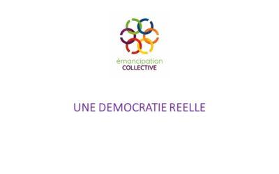 Boîte à idées: Une démocratie réelle