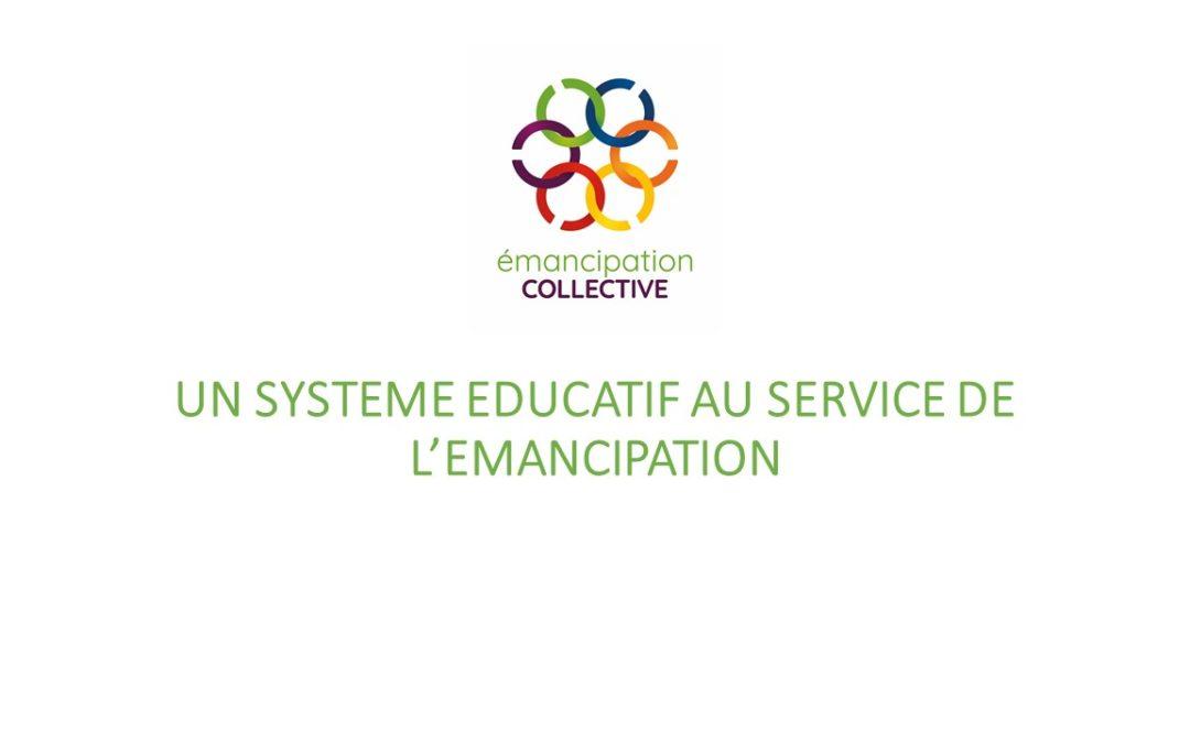 Boîte à idées: Une éducation au service de l'émancipation