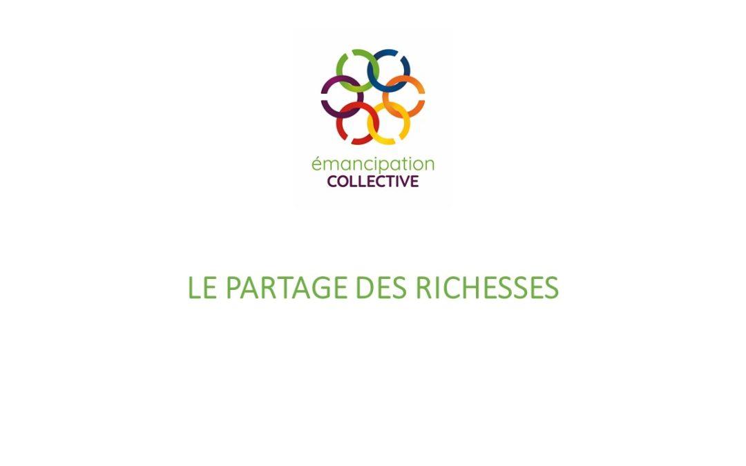 Boîte à idées: Le partage des richesses